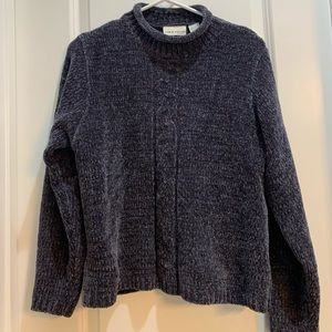 Charcoal Gray Pullover Sweater Croft & Barrow